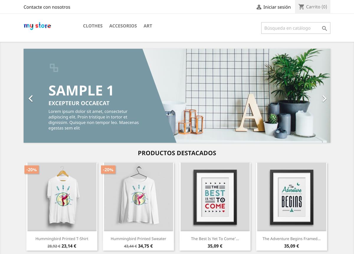 Prestashop Integración tienda online